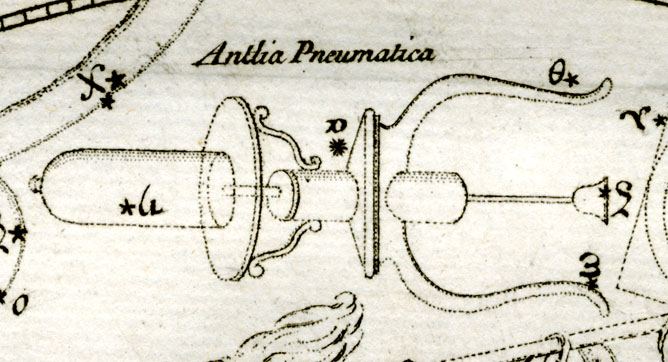 Antlia, the Pump.