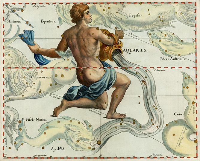 Aquarius, The Water-Carrier