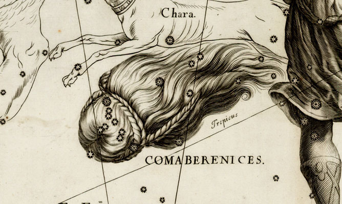 Coma Berenices, Berenices Hair