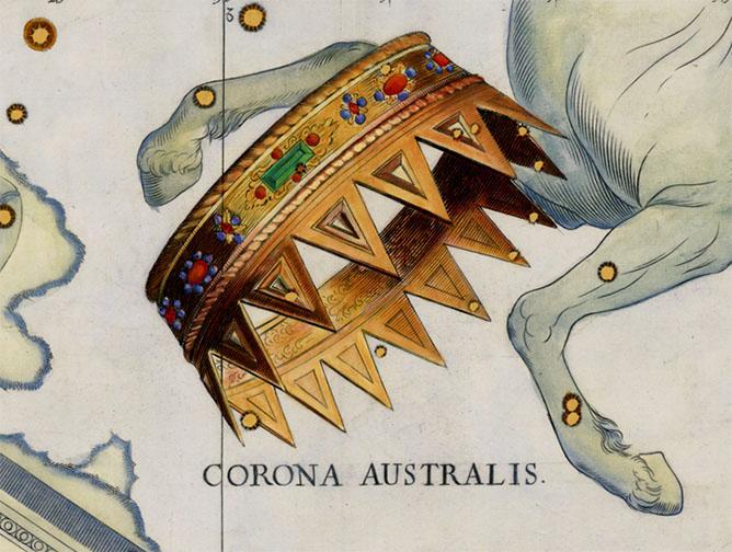 Corona Australis, The Southern Crown