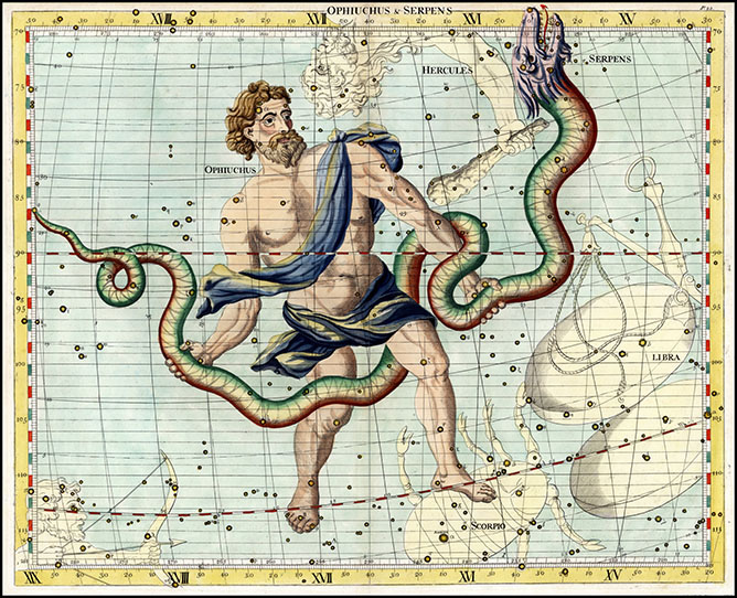 Ophiuchus, The Serpent Bearer