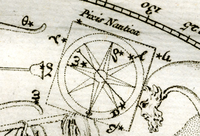 Pyxis, The Mariner's Compass