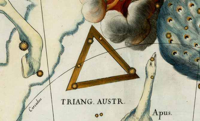 Triangulum Australe, The Southern Triangle