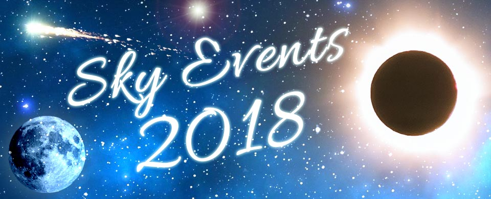 Night Sky Events 2018