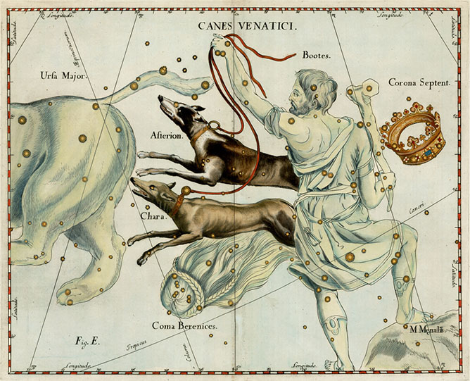 Canes Venatici, The Hunting Dogs